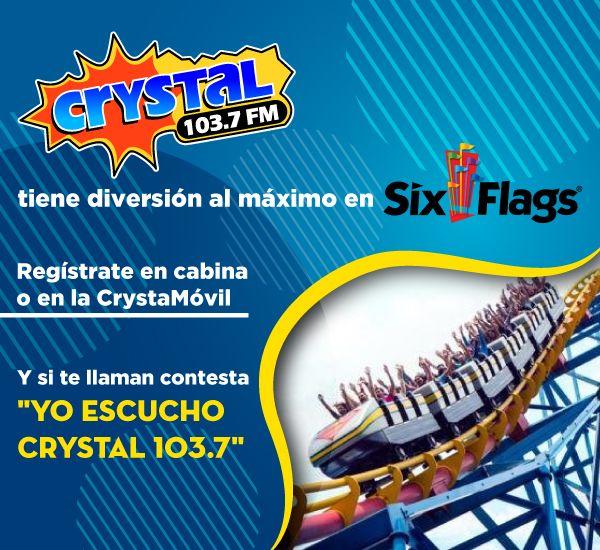 ¿Ya están listos para ir a Six Flags?
