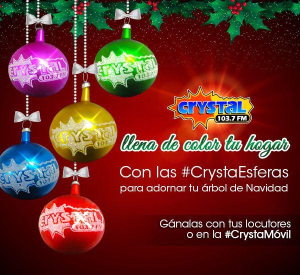 Ya llegaron las #CrystaEsferas 103.7