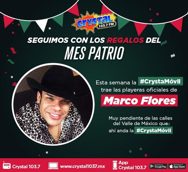 Playeras oficiales de Marco Flores