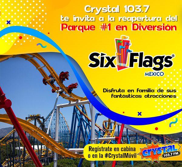 Te invitamos a Six Flags México